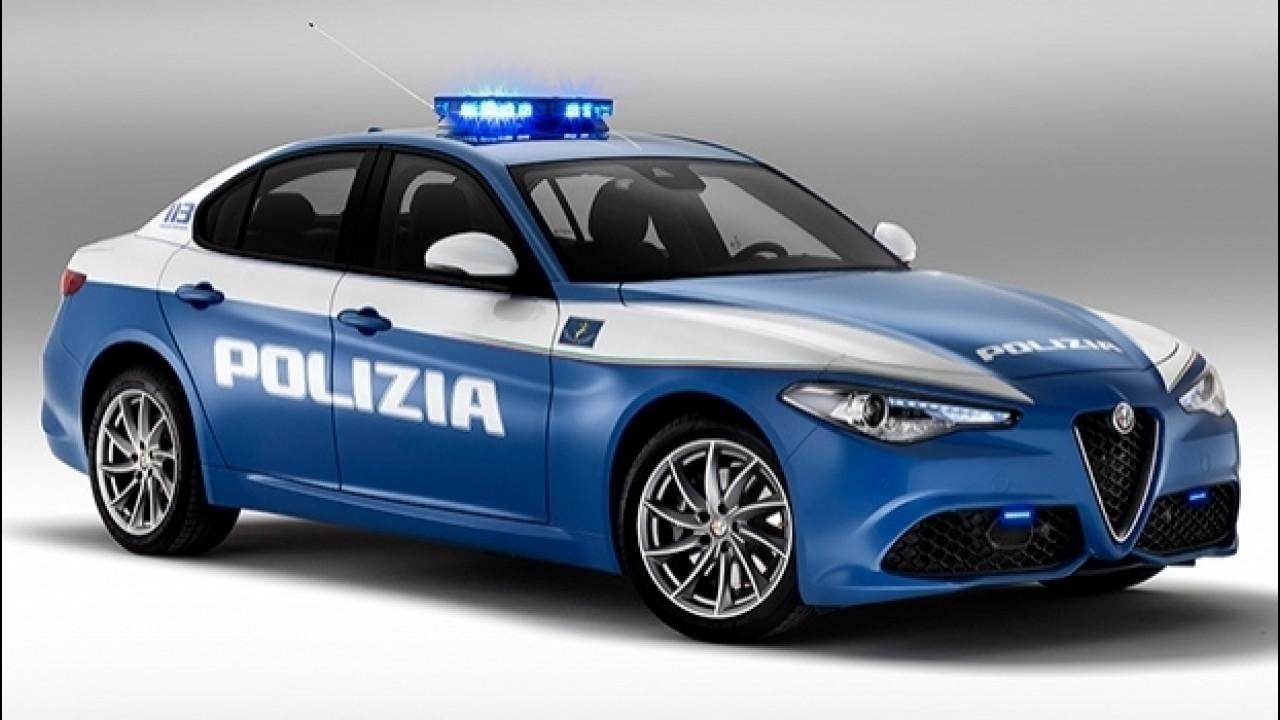 [Copertina] - Alfa Romeo Giulia Veloce alla Polizia [VIDEO]