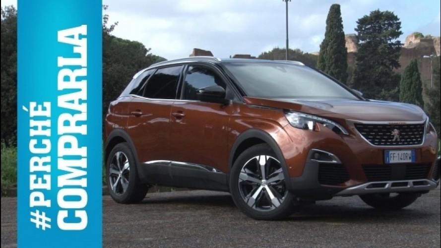 Peugeot 3008, perché comprarla… e perché no [VIDEO]