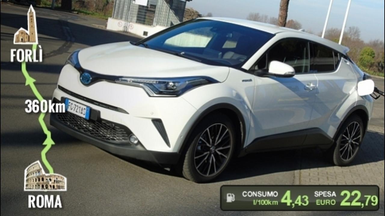 [Copertina] - Toyota C-HR Hybrid, la prova dei consumi reali