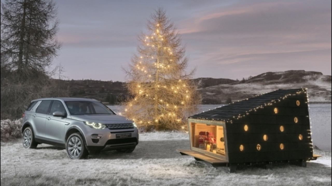 [Copertina] - Land Rover, nel Discovery Sport entra il rifugio di Babbo Natale [VIDEO]