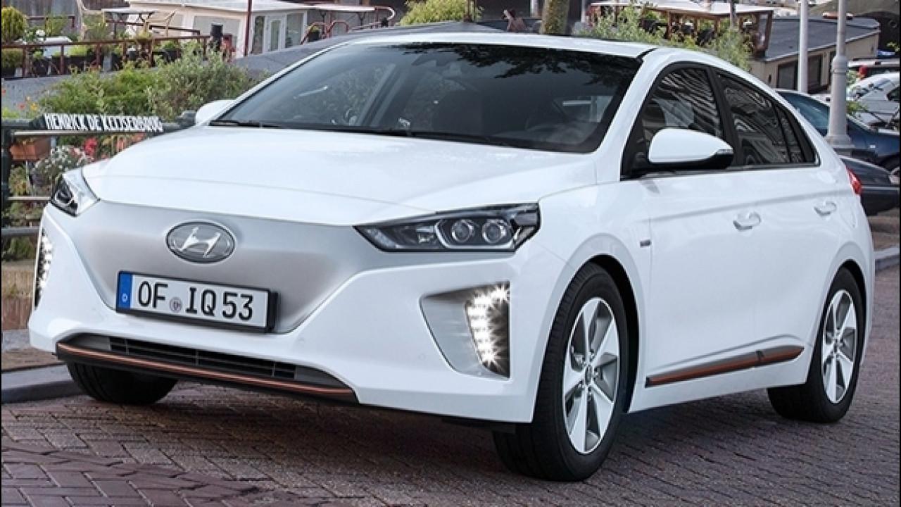 [Copertina] - Hyundai Ioniq Electric, 280 km con un pieno