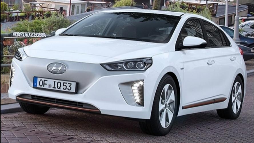 Hyundai Ioniq Electric, 280 km con un pieno