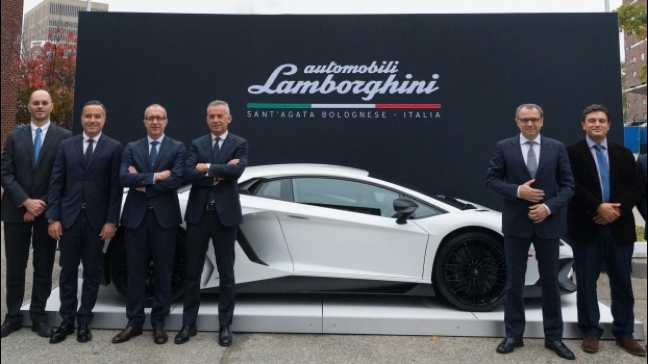 [Copertina] - Lamborghini e MIT, due eccellenze per le auto di domani
