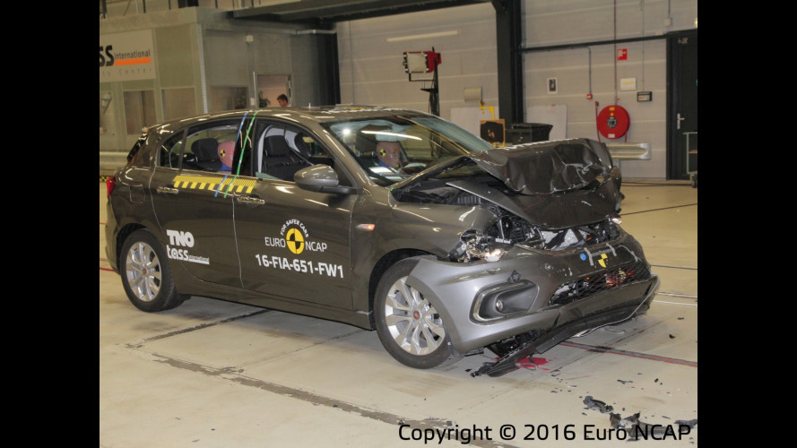 Fiat Tipo: 3 o 4 stelle nei Crash Test EuroNCAP [VIDEO]