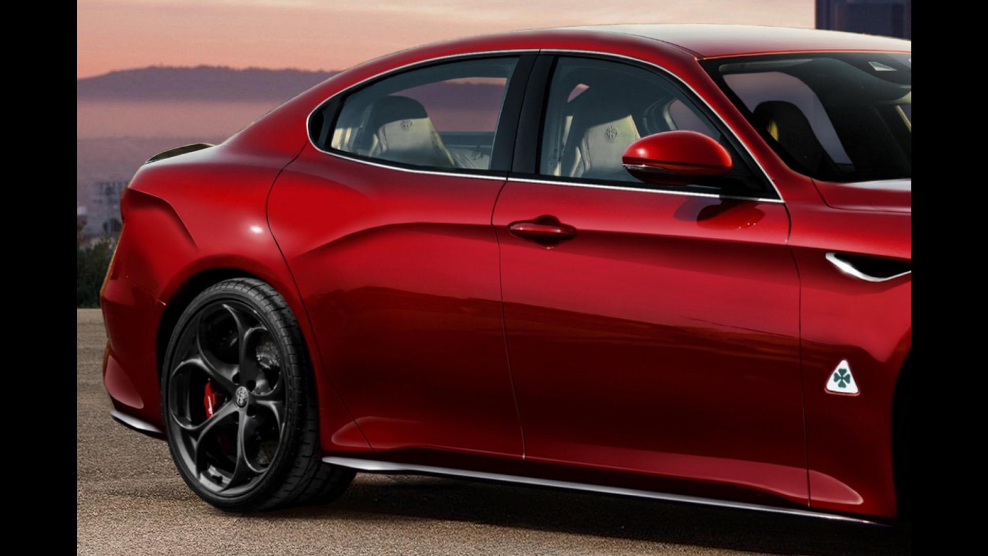Alfa Romeo Alfetta Idee Per La Nuova Ammiraglia