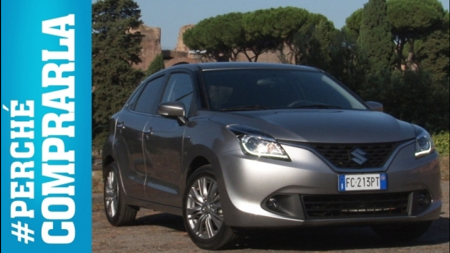 Suzuki Baleno, perché comprarla... e perché no [VIDEO]