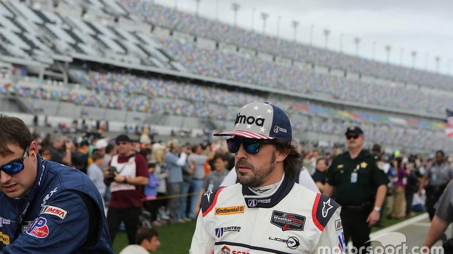 """Alonso: """"Contento con la experiencia de conducir tantas horas"""""""