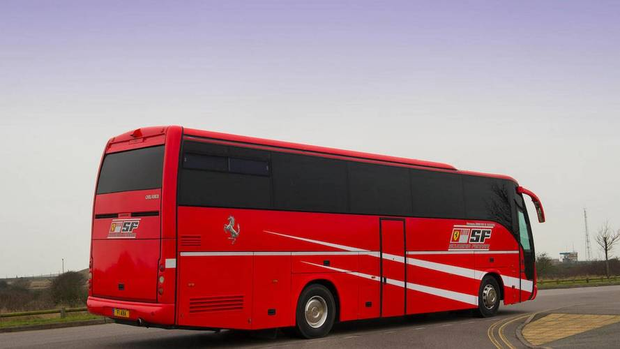 Iveco Ferrari Scuderia team bus for sale