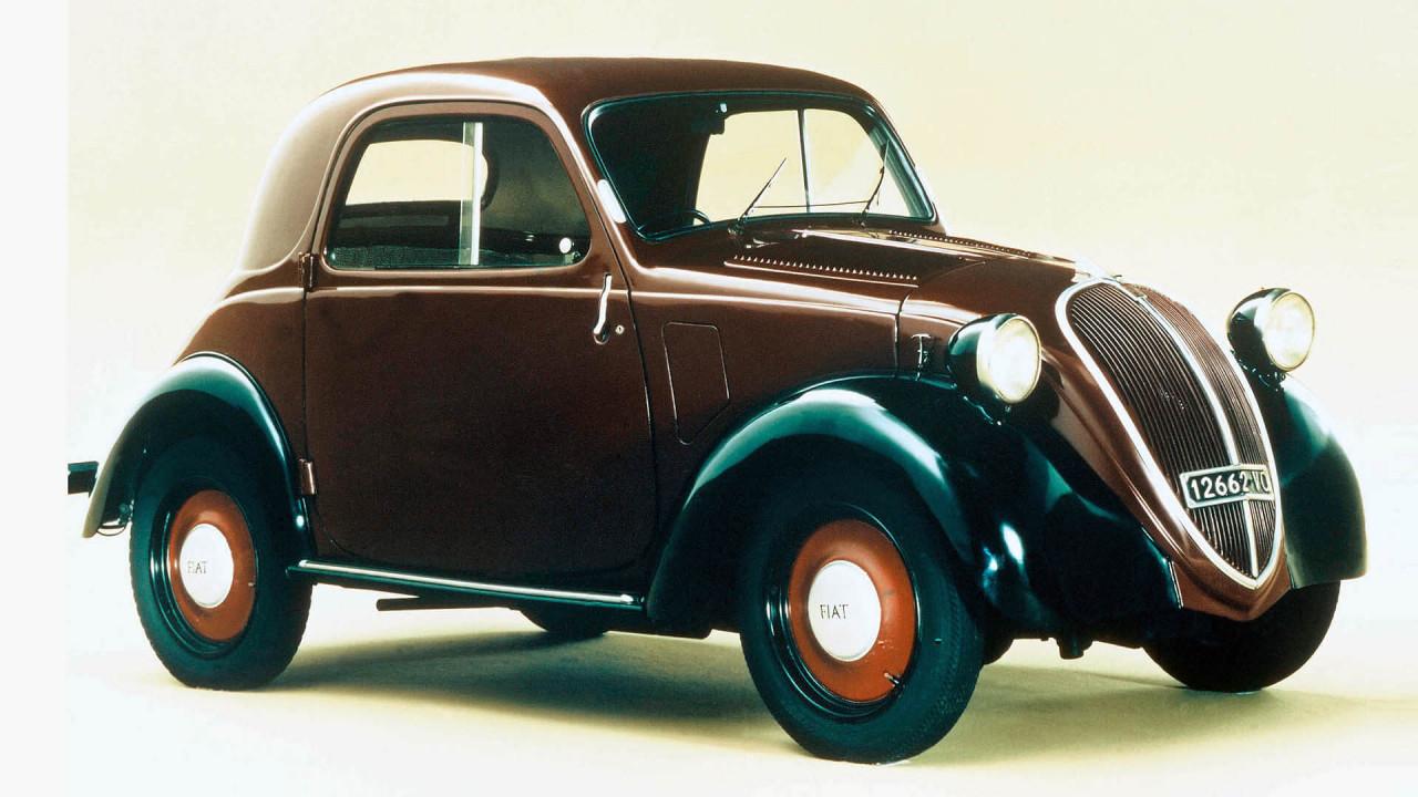 Fiat 500 (1936): der erste Kleinwagen