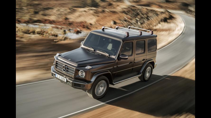 Nuova Mercedes Classe G, tradizione e rivoluzione