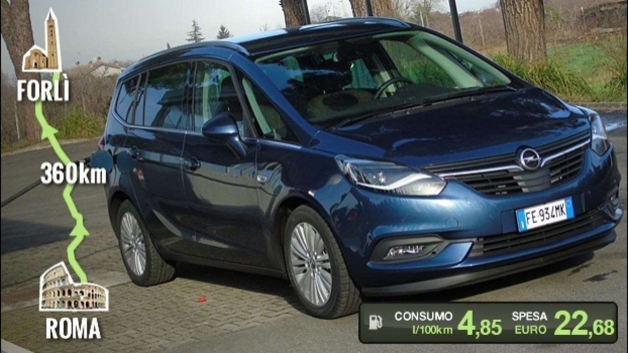 [Copertina] - Opel Zafira 2.0 CDTI, la prova dei consumi reali