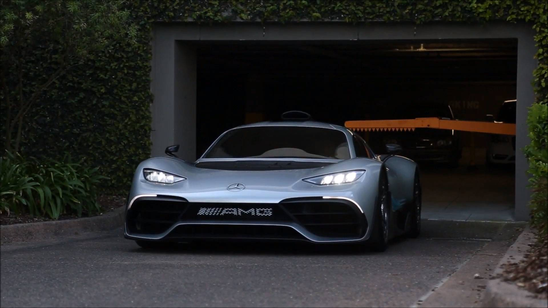 Mercedes Amg One Drops The Project For Official Name