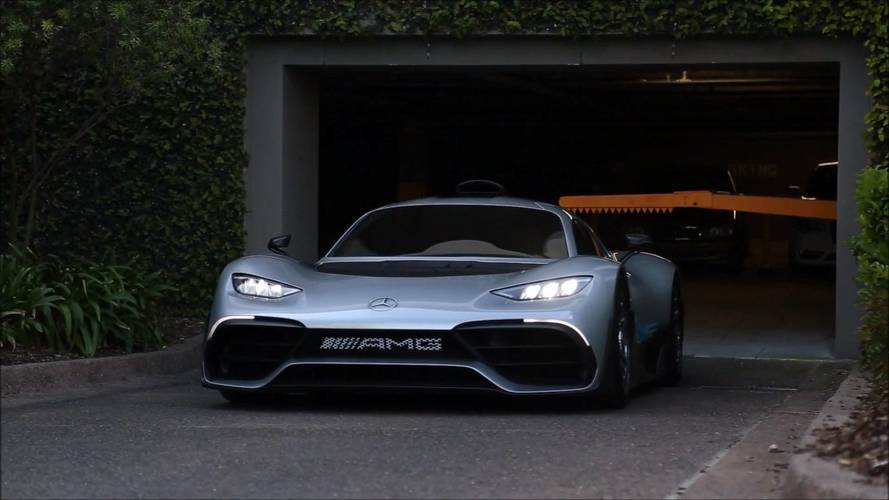 Mercedes-AMG One Drops The