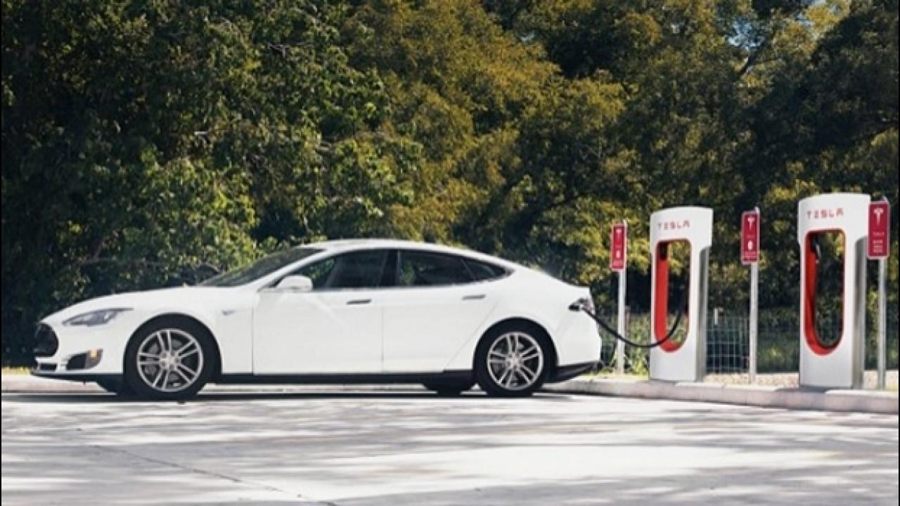 [Copertina] - Tesla Supercharger, stop alla ricarica gratis dal 2017