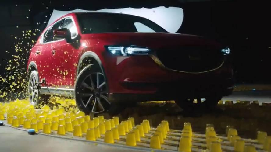 Le Mazda CX-5 n'a peur ni de la gelée, ni des glaçons