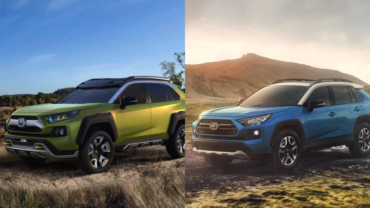 Comparativa Toyota RAV4 vs. Toyota FT-AC