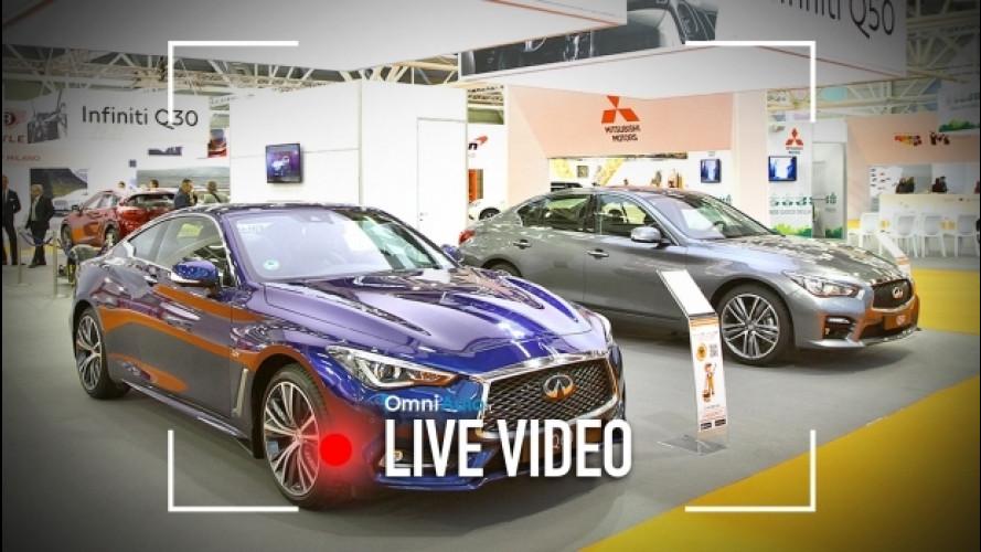 Motor Show 2016, la prima volta di Infiniti  [VIDEO]