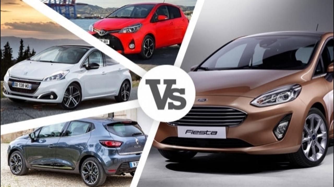 [Copertina] - Nuova Ford Fiesta contro tutte