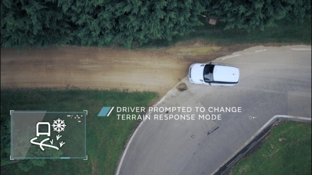 [Copertina] - Land Rover, autonomous driving in fuoristrada