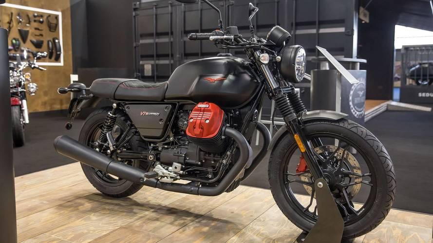 Llega a los concesionarios la nueva Moto Guzzi V7 III Carbon
