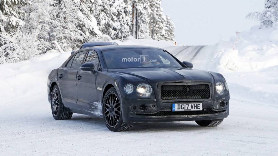 La prochaine Bentley Flying Spur poursuit son développement
