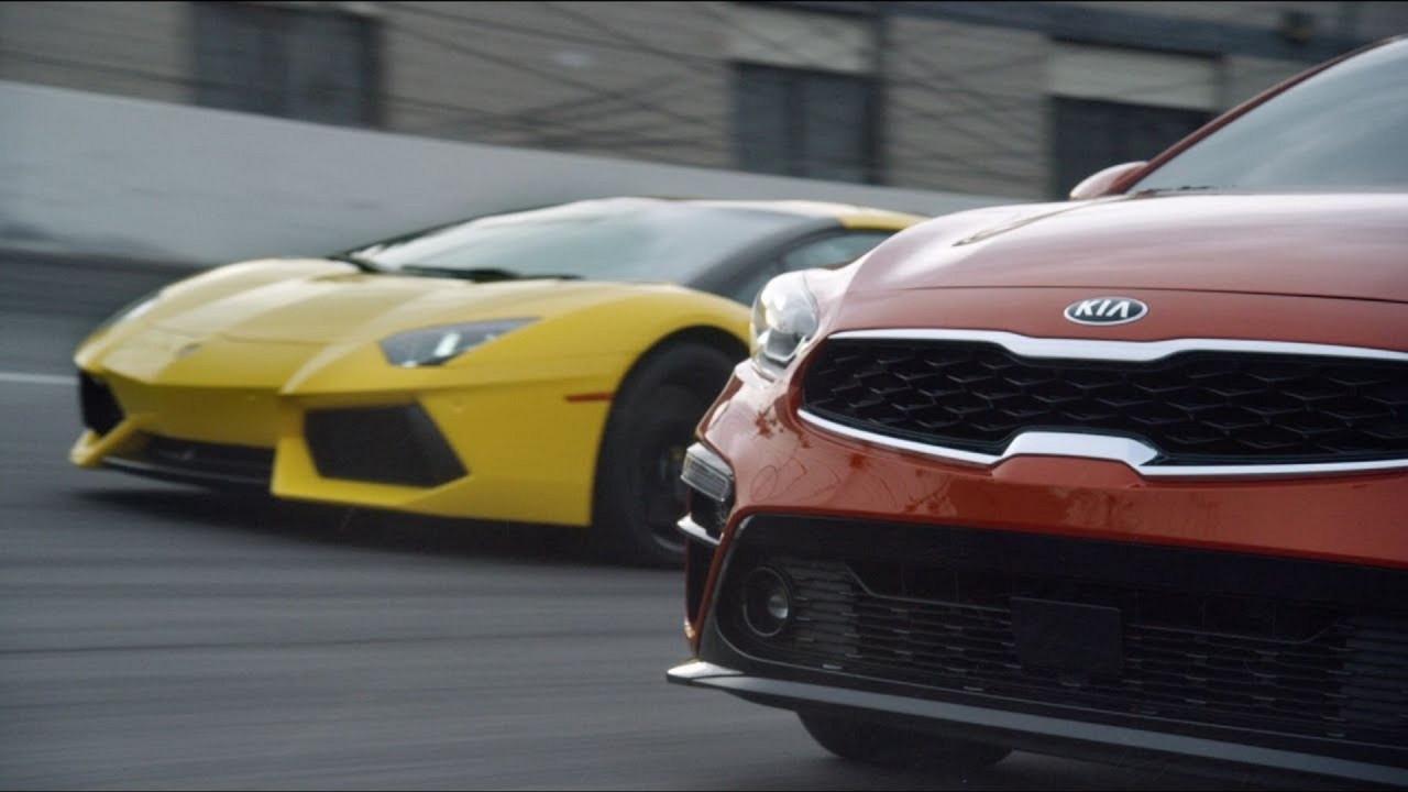 [Copertina] - Kia Forte vs Lamborghini Aventador, la sfida impossibile