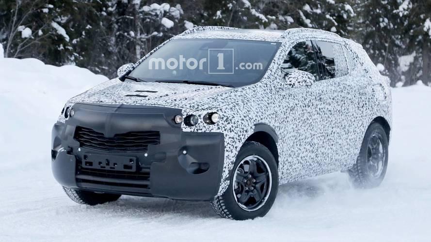 Yeni Opel Mokka X test esnasında görüntülendi