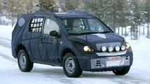 Tata Safari SUV on test in Sweden