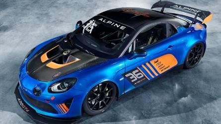 Alpine A110 GT4, francese pronto corsa