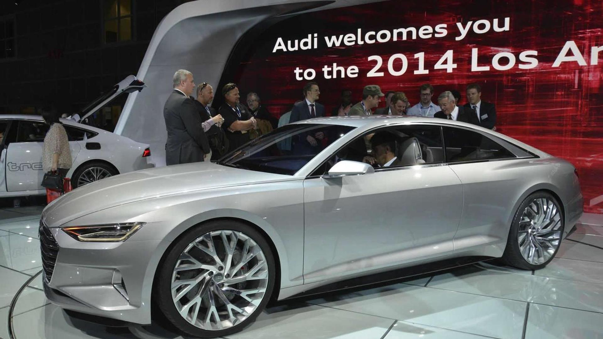 Next Generation Audi A8 Design To Be Influenced By Prologue Concept New Live Pics
