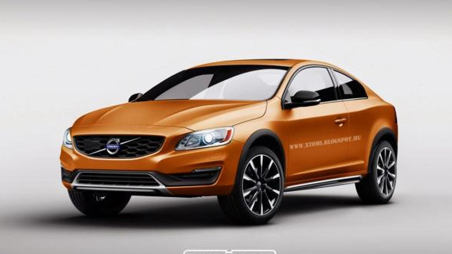 Volvo S60 Cross Country Rendered As A Two Door Coupe