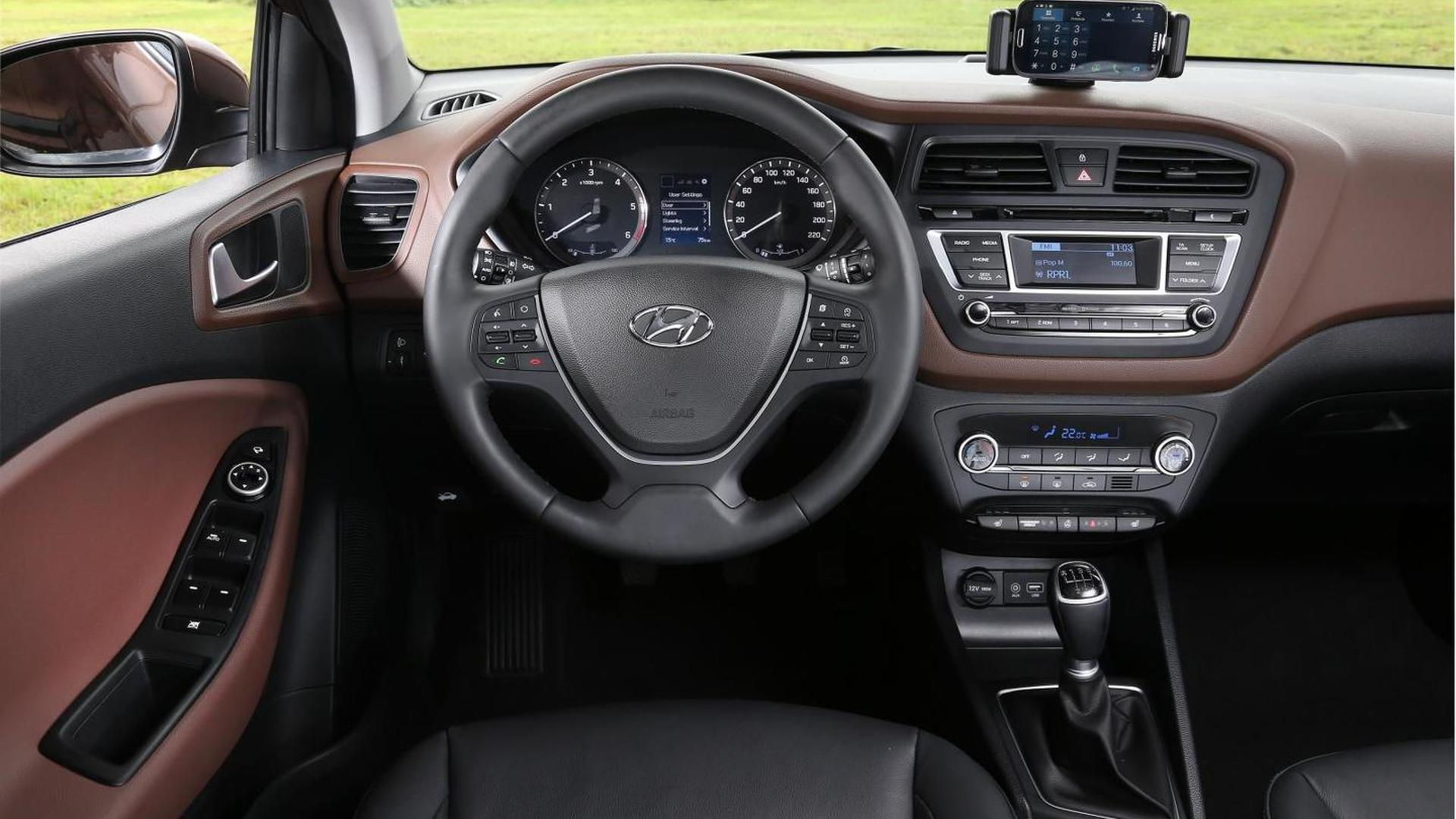 Euro Spec Hyundai I20 Detailed New Pics Released Including Interior