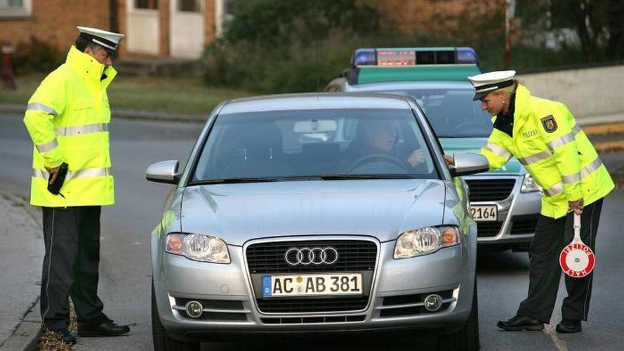 "German police releases picture with Audi A4 wearing ""ACAB"" license plate"