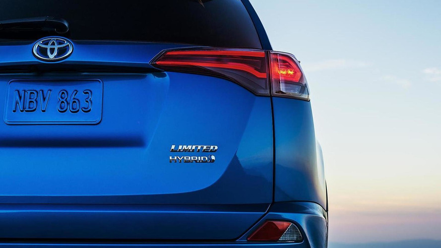 2016 Toyota RAV4 Hybrid teased, debuts April 2
