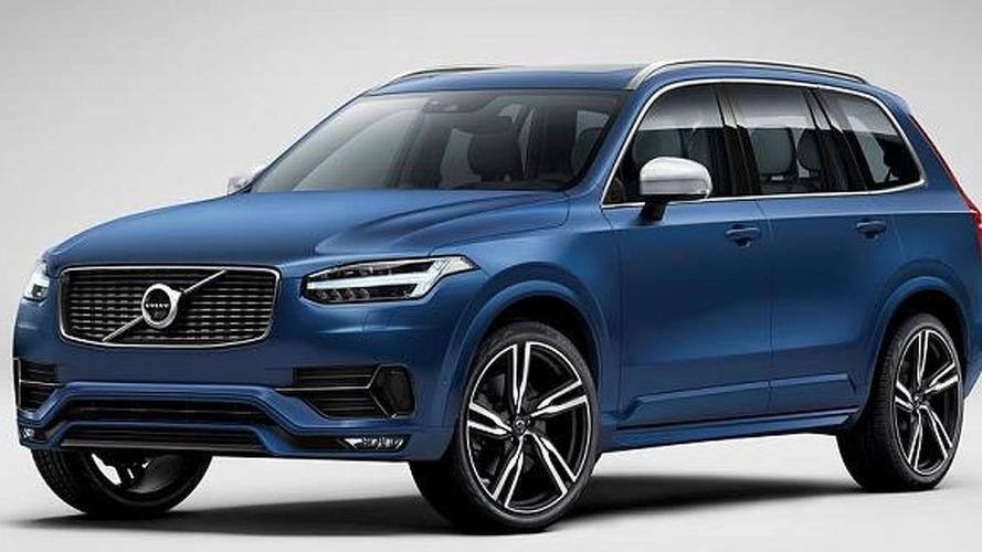 Volvo unveils XC90 R-Design with sportier look