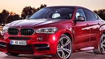 2016 BMW X6 M render