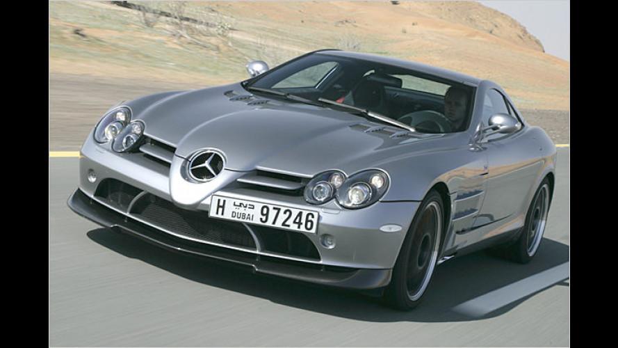 Gefährliche Liebschaft: Der Mercedes SLR McLaren 722
