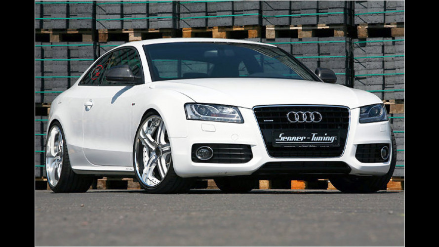 Weiß und schnell: Audi A5 3.0 TDI White-Speed von Senner