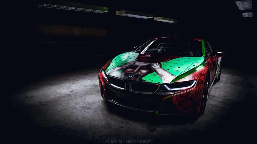 Provokatív BMW i8: még maga Joker is megvenné