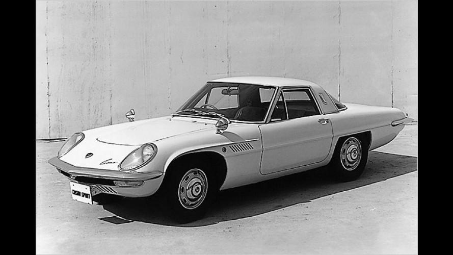 Mazda Cosmo Sport: Vier Jahrzehnte Wankelmotor bei Mazda