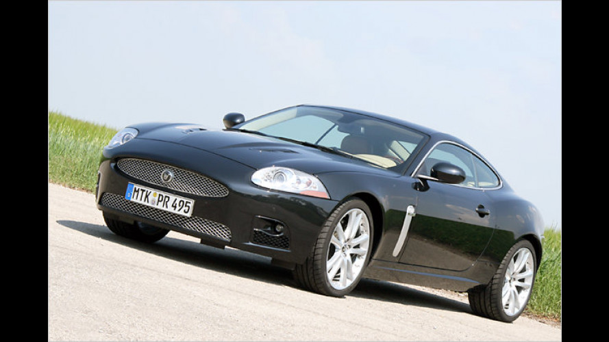 Good Reactions: Der Jaguar XKR mit 416 PS im Test