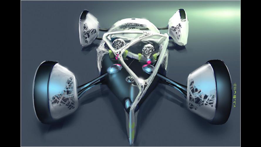 VW Nanospyder: Aus dem tiefen Tank statt vom Fließband