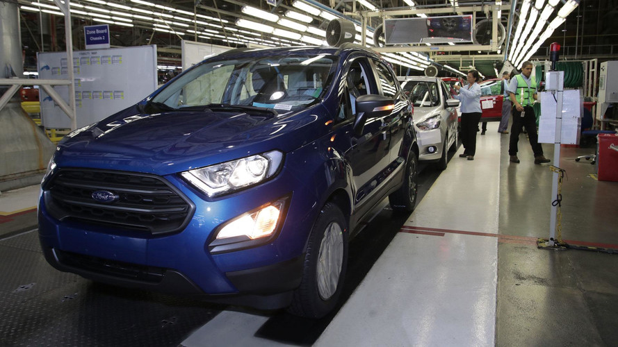 Ford retoma produção em Camaçari (BA) com aceleração graduada