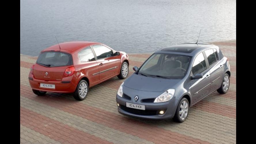 Neuer Renault Clio: Klimaanlage und CD-Player für lau