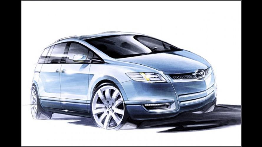 Mazda: Van-Studie MX Flexa auf dem Genfer Autosalon