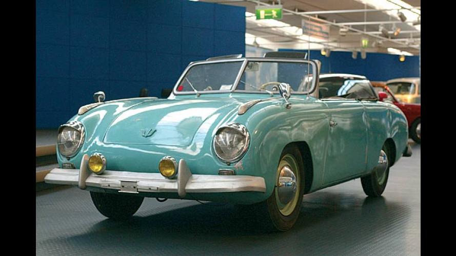 Des Käfers neue Kleider: Die schicken Autoträume der 50er