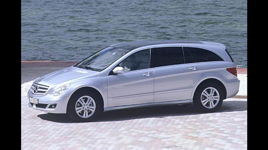 Preise für die Mercedes R-Klasse und Start des E 420 CDI