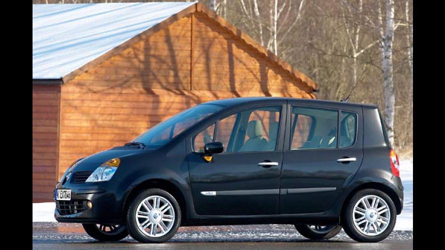 Renault Modus mit neuem 106-PS-Diesel und sechs Gängen