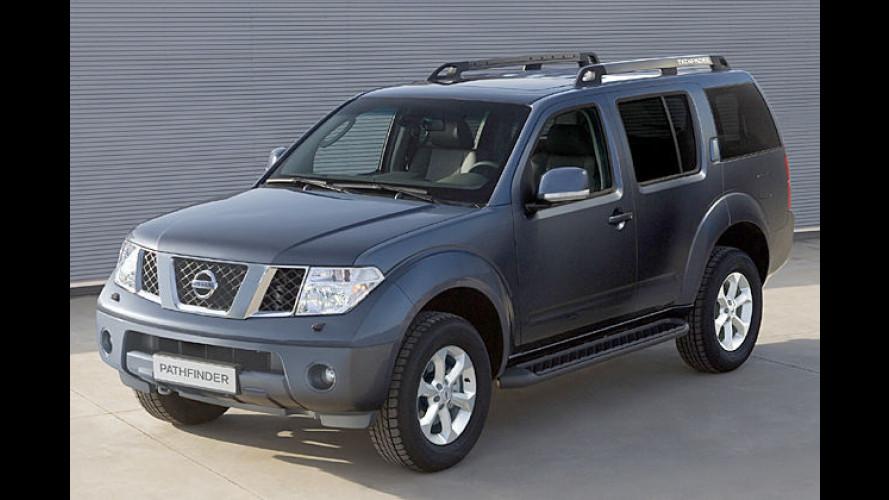 Nissan überarbeitet seine Baureihen Navara und Pathfinder (2007)