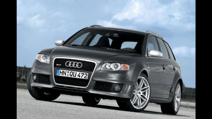 Audi RS 4: 420 PS jetzt auch in Kombi und Cabrio